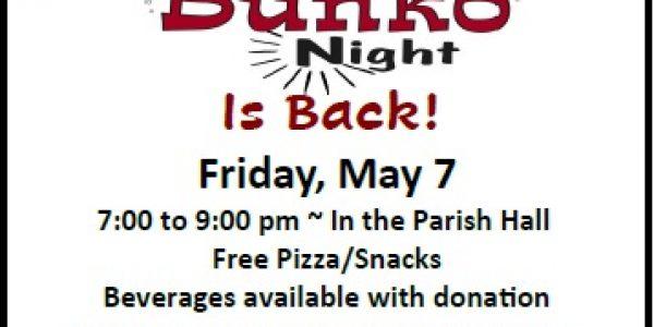 Knights of Columbus Bunko – Friday, May 7