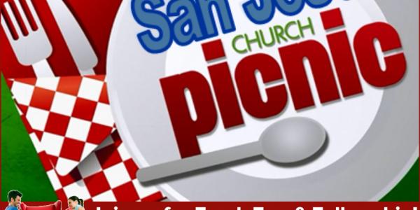 San Jose Parish Picnic – Friday, April 30 @ 6:30pm