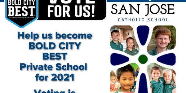 Nominee for Bold City's Best Private School of 2021